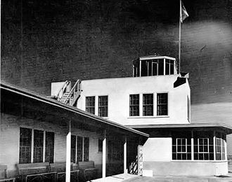 Rankin Field - Operations Building and Control Tower, 1944