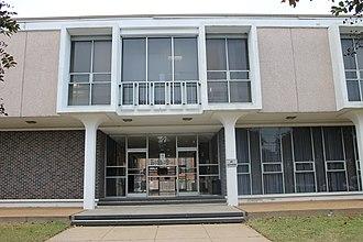 Rapides Parish School Board - Rapides Parish School Board office in downtown Alexandria, Louisiana