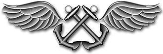 Aviation boatswain's mate - Image: Rating Badge AB