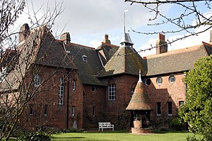 Philip Webb - Red House, Bexleyheath, designed by Webb for William Morris