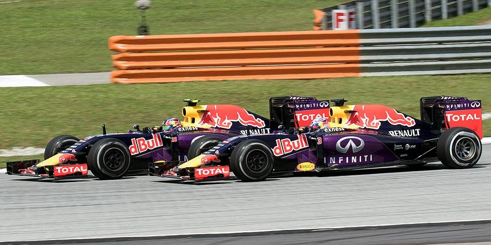 Red Bull duo 2015 Malaysia Race 2
