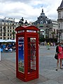 Red telephone box, Paris August 2012.jpg