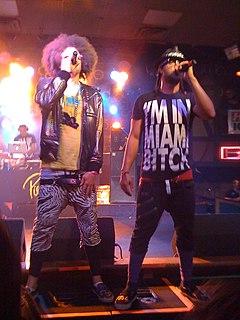 LMFAO American pop music duo