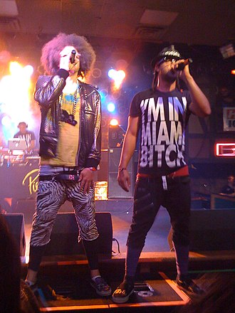 LMFAO - LMFAO performing in Fort Wayne, Indiana in 2009