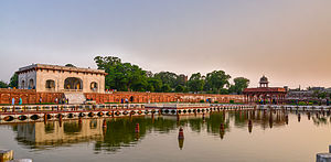 Mughal gardens - The Shalimar Gardens in Lahore, Pakistan, is among the most famous of all Mughal-era gardens