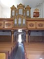 Református templom, orgona (Rieger Ottó, 1910), 2017 Fehérgyarmat.jpg