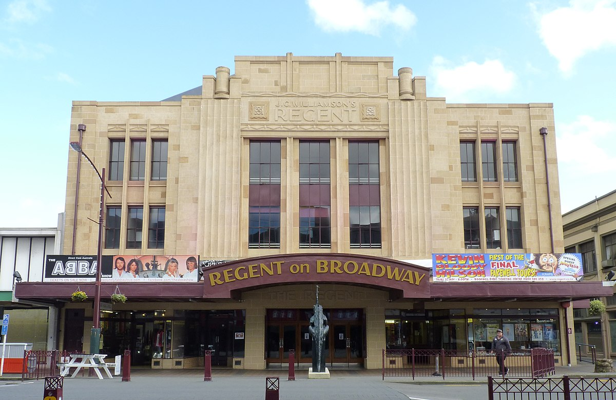 Wanganui movie theatre