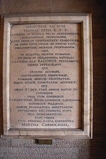 Thomas Reids tombstone