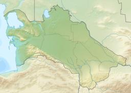 Situo enkadre de Turkmenio