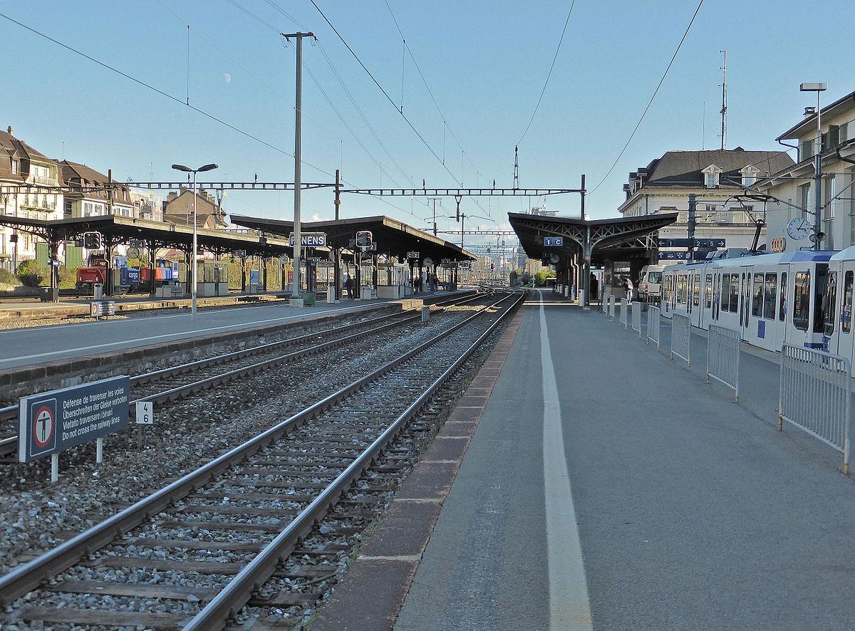 Gare de renens wikip dia for Garage de la gare bretigny