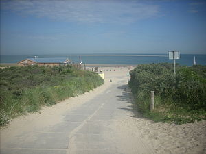 Renesse - Image: Renesse seaside 2