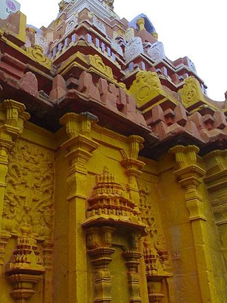 Renuka - Renuka temple at Yallammagudi, Saundatti  (Belgaum District ). North Karnataka, Karnataka