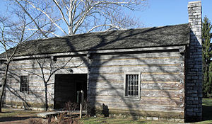 Constitution Square Historic Site - A replica of Isaac Hite's jail