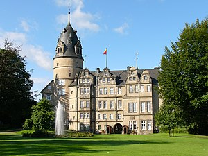 Principality of Lippe - The princely castle at Detmold