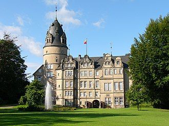 House of Lippe - The princely castle at Detmold
