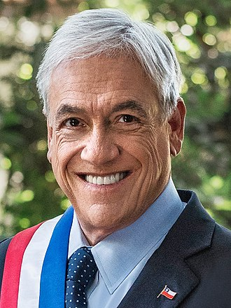 2017 Chilean general election - Image: Retrato Oficial Presidente Piñera 2018 (cropped 2)