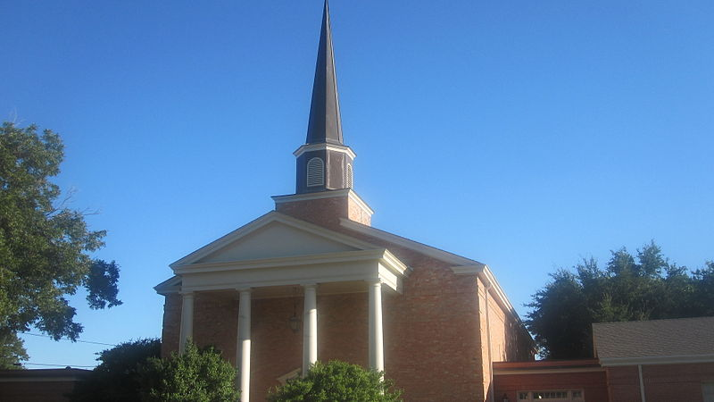 Attractive Churches Abilene Tx #1: 800px-Revised_First_Christian_Church%2C_Abilene%2C_TX_IMG_6316.JPG