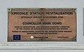Revitalisation plaque at Kirkdale railway station.jpg
