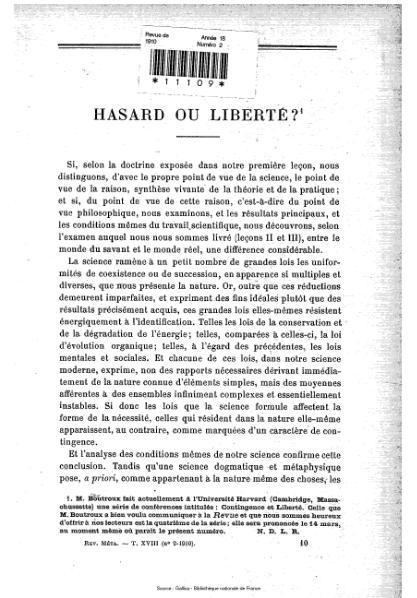 File:Revue de métaphysique et de morale, numéro 2, 1910.djvu