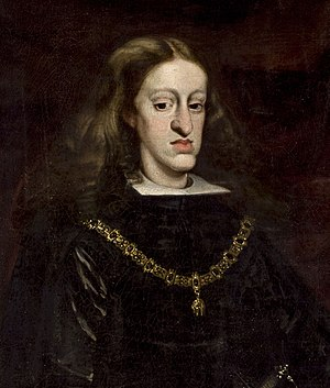 Incest - Charles II of Spain was born mentally and physically disabled due to centuries of inbreeding in the House of Habsburg