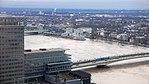 Rheinhochwasser 2018 in Köln KölnTriangel 09.jpg