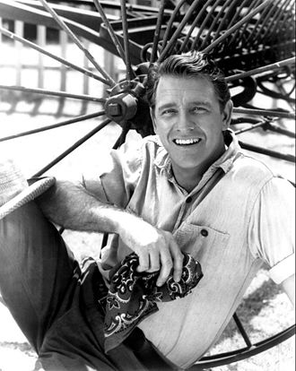 Richard Crenna - Richard Crenna, portraying Luke McCoy, in the television series, The Real McCoys, in 1961.