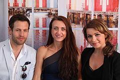 Richard Ulfsäter Camilla Läckberg Claudia Galli Cannes 2012.JPG