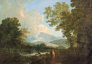 Arpino - Richard Wilson - Cicero with his friend Atticus and brother Quintus, at his villa at Arpinum - Google Art Project