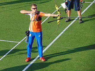 Sjef van den Berg Dutch archer