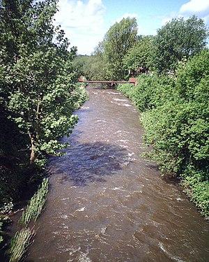 River Douglas (Lancashire) - River Douglas at Appley Bridge, West Lancashire