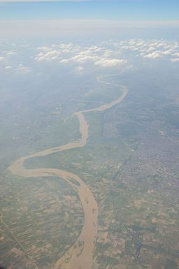River Hindon - Aerial View - Ghaziabad 2016-08-04 5764.JPG