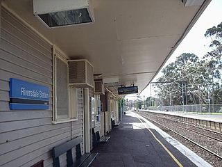 Riversdale railway station railway station in Camberwell, Melbourne, Victoria, Australia
