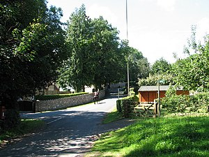 Boughspring - Image: Road junction at Boughspring geograph.org.uk 522781