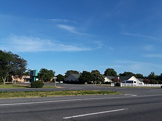 Gargatha, Virginia - U.S. Route 13 in Gargatha, July 2018