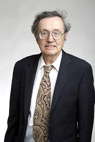 Robert H. Crabtree - Robert Crabtree at the Royal Society admissions day in London, July 2018