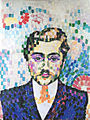 Robert Delaunay, 1906, Portrait de Metzinger, oil on canvas, 55 x 43 cm, DSC08255.jpg