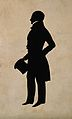 Robert Liston. Printed silhouette. Wellcome V0003627.jpg