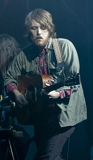 Robin Pecknold - Pecknold performing with Fleet Foxes at Atlantico Live in Rome, Italy in 2011