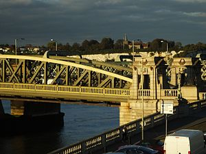 Rochester Bridge - Rochester Bridge from the south east