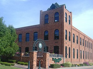 Rochester, Michigan - The Western Knitting Mills, built in 1896, was owned by the Chapman brothers.