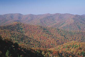 Appalachian Mountains - Shenandoah National Park