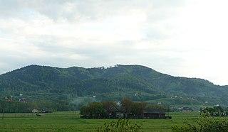 Roczyny Village in Lesser Poland, Poland