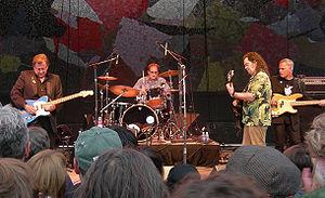 Roky Erickson - Roky Erickson and the Explosives at Bumbershoot festival (2007).