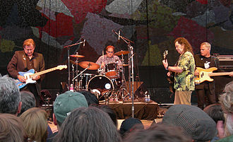 Roky Erickson - Roky Erickson and the Explosives at Bumbershoot festival (2007).
