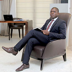 Roland Agambire CEO of Agams Holdings