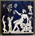 Roma, cammeo con satiro che dà un grappolo al giovane bacco, 0-50 dc ca..JPG