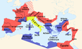 Roman empire 14 AD (provinces) fr.png