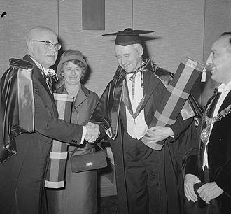 Colin Clark (economist) - Image: Romme Clark 1962