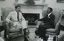 Ronald Reagan and James E. Cheek.jpg