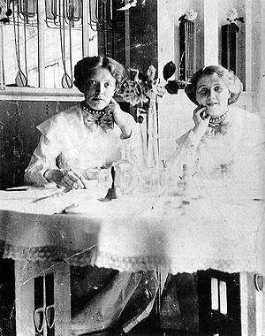 Catherine Cranston - Miss Cranston's waitresses, seen in the Room de Luxe of the Willow Tea Rooms.